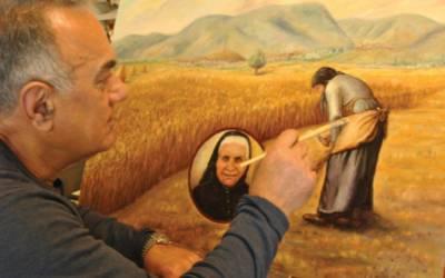 Μιχάλης Καραπαναγιωτίδης: Καλλιτέχνης με αναζητήσεις, αδυναμίες και πάθος για το ρεαλιστικό σχέδιo