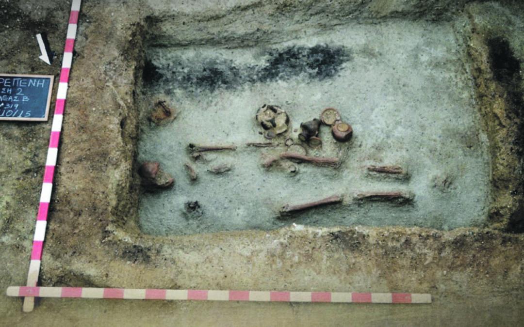 Οι τρεις παραλίμνιες νεκροπόλεις της Κρεπενής  αλλάζουν το αρχαιολογικό τοπίο της περιοχής