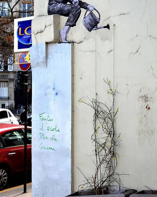 Μήνυμα στον τοίχο – Της Κατερίνας Παπαστεργίου