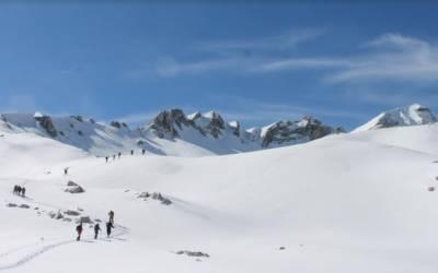 Ορειβατική διαδρομή στον Λάκμο απο τον EOΣ την Κυριακή 11.2.2018