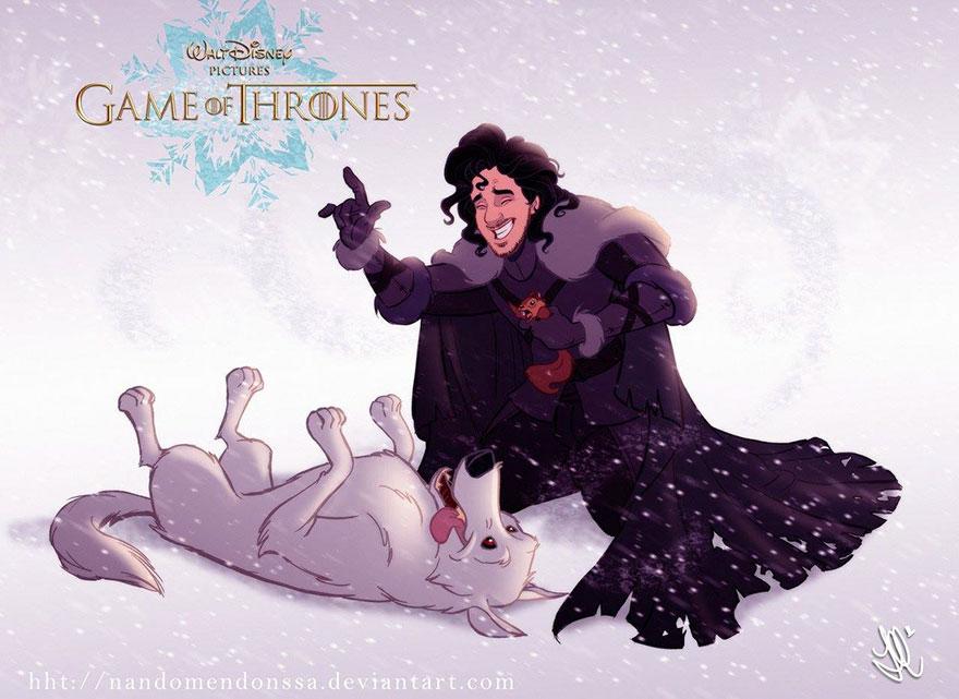 Αν η Disney είχε δημιουργήσει το Game Of Thrones!