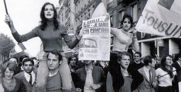 Ο Γαλλικός Μάης του '68  μέσα από τον κινηματογράφο!