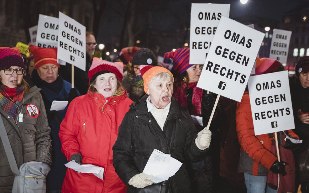 Οι γιαγιάδες της Αυστρίας που πολεμούν την ακροδεξιά