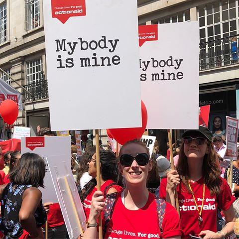 #MyBodyIsMine από την Action Aid