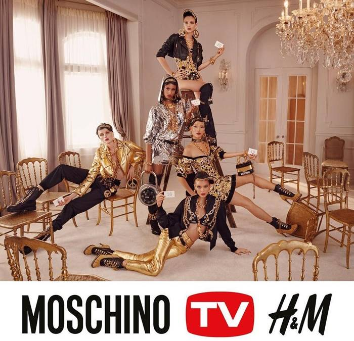 Mια πρώτη ματιά στη συλλογή Moschino του Jeremy Scott για την H&M |