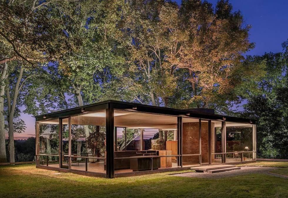 Το αρχιτεκτονικό θαύμα του Philip Johnson