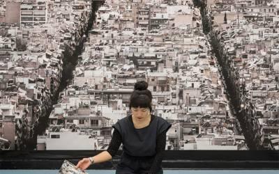 Η πυκνοκατοικημένη Αθήνα φωτογραφίζεται από ψηλά