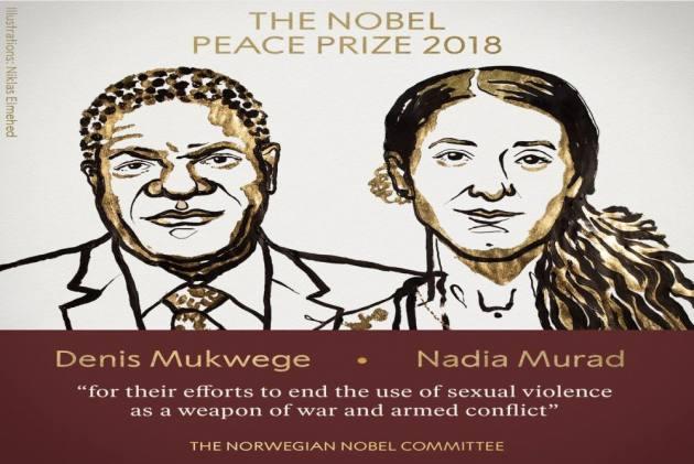 Στους Ντένις Μουκουέγκε και Νάντια Μουράντ το φετινό Νόμπελ Ειρήνης