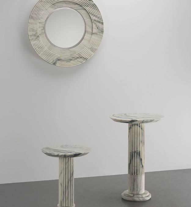 «Architectures» η πρώτη έκθεση γλυπτών του Karl Lagerfeld που εμπνέεται από τους κλασσικούς ελληνικούς στήλους.